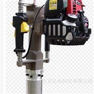 单人手持式汽油动力土壤取样钻机