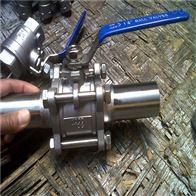 Q61FQ61F不锈钢三片式对焊球阀