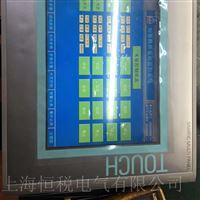 西门子MP377触摸屏启动面板无显示维修