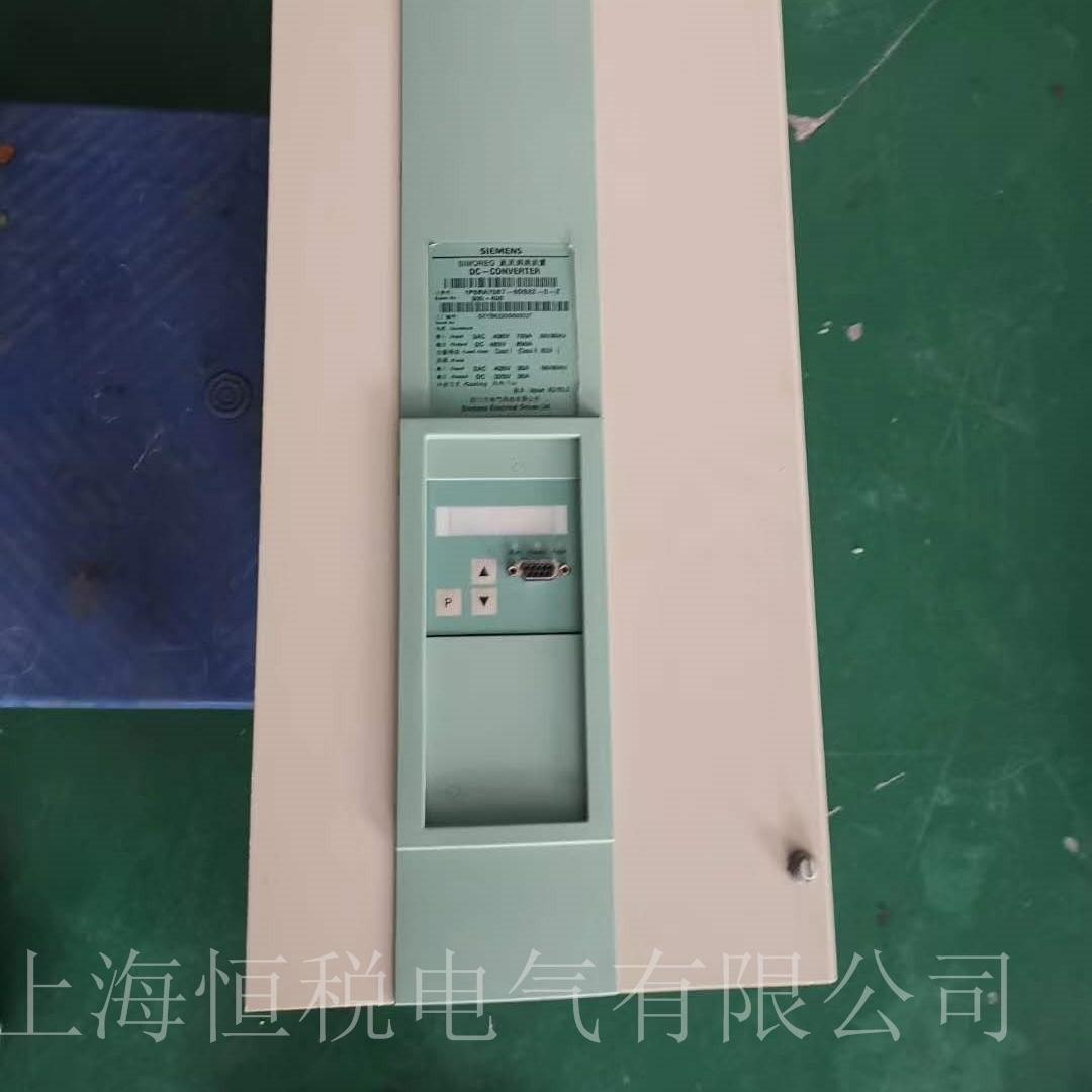 西门子6RA70启动面板无显示维修检测