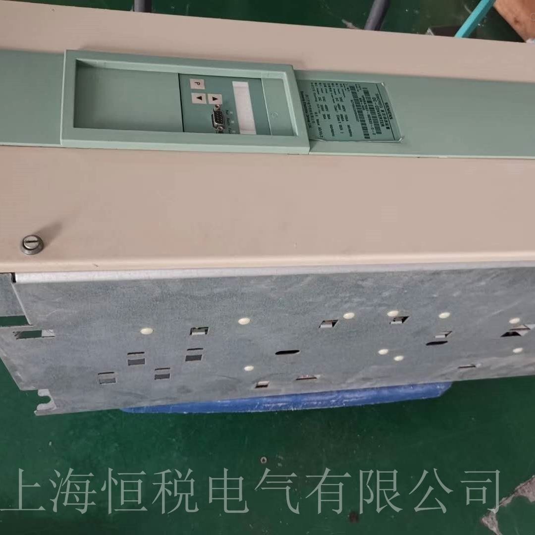 西门子直流调速器上电启动就跳闸修复解决