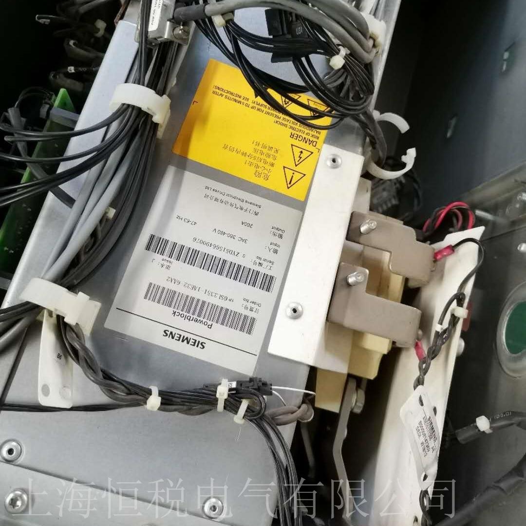 西门子G150变频器面板报警F07800维修厂家