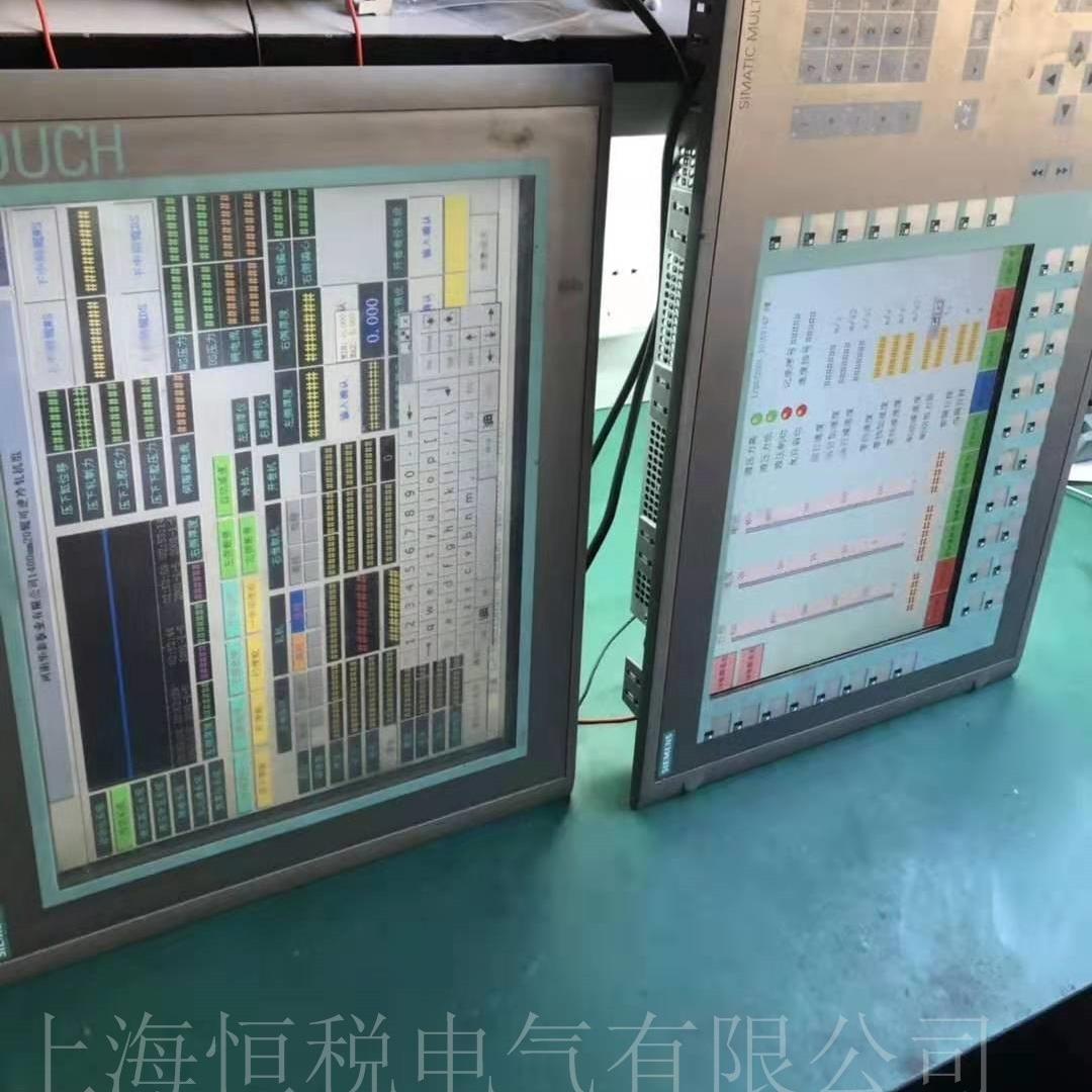 西门子显示屏开机进度条一直不动修理诊断