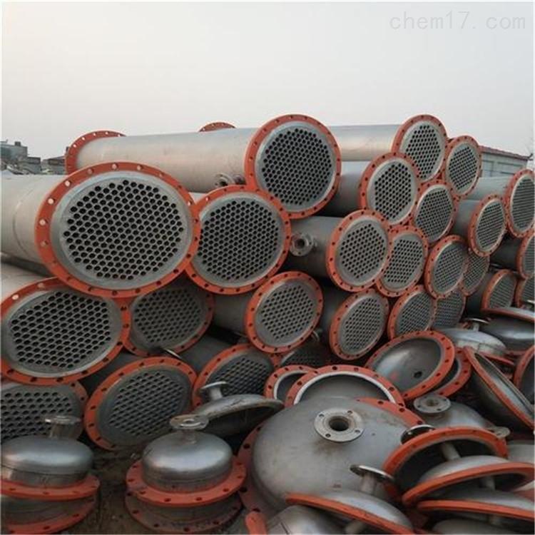 二手10-500平方不锈钢列管冷凝器