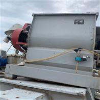 1吨二手饲料高效双轴桨叶混合机