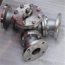 气动Y型三通球阀Q642F/H实力厂家