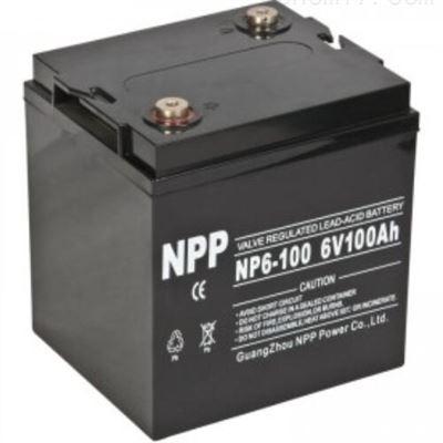 NP6-100Ah耐普NP6-100(6V100AH)蓄电池