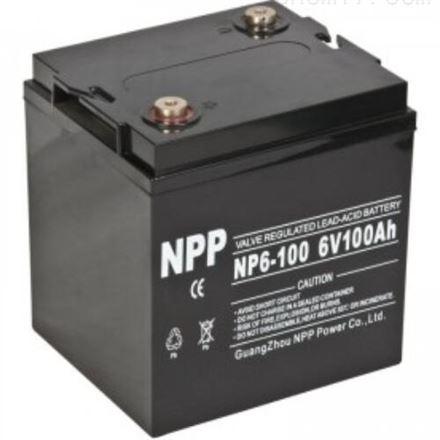 耐普NP6-100(6V100AH)蓄电池