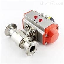 氣動快裝式衛生級球閥Q681F專業生產