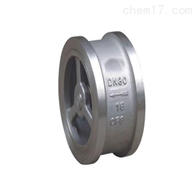 H72不锈钢型对夹升降式止回阀