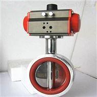 气动对夹式硅胶密封卫生级蝶阀D671Si定制