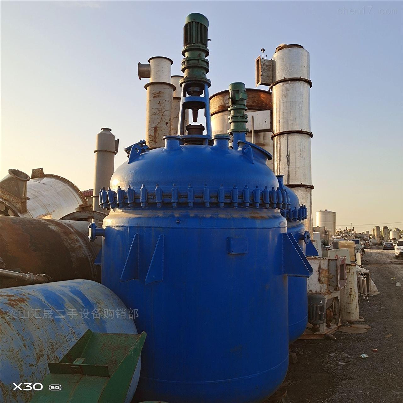 二手钛材反应釜回收