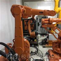 KUKA机器人示教器报警紧急停止不工作修理