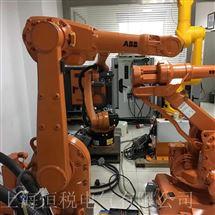 KUKA维修保养KUKA机器人触摸屏启动显示白屏修理检测