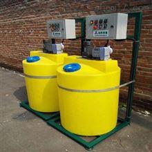 300升加氯机配套加药装置三泵两用一备加药