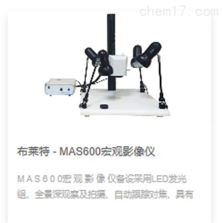 布莱特 - MAS600宏观影像仪