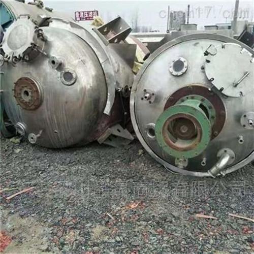 二手10吨反应釜全套处理