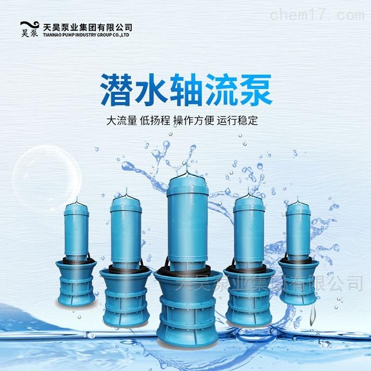 泵房改造潜水轴流泵厂家