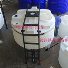 6000升污水搅拌池加药桶带搅拌龙门支架厂商