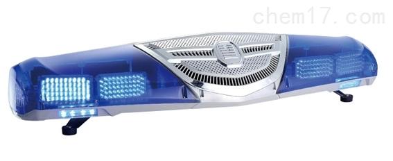 全蓝LED爆闪长排灯  12V 蓝色警示灯