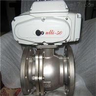Q941F46不锈钢电动衬氟球阀