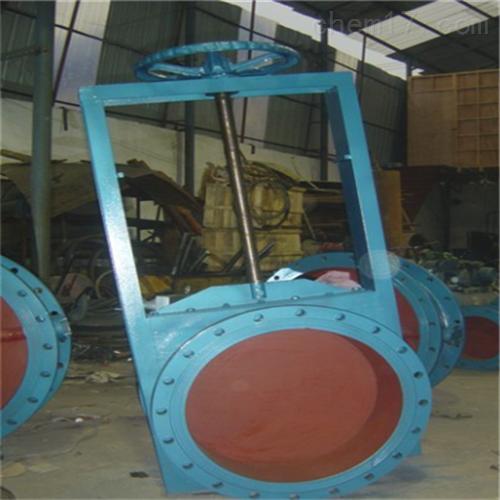 不锈钢圆形手动插板阀