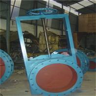 LC-I不锈钢圆形手动插板阀