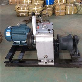 20-50kN承装资质升级电动绞磨机杆塔组立和架线设备
