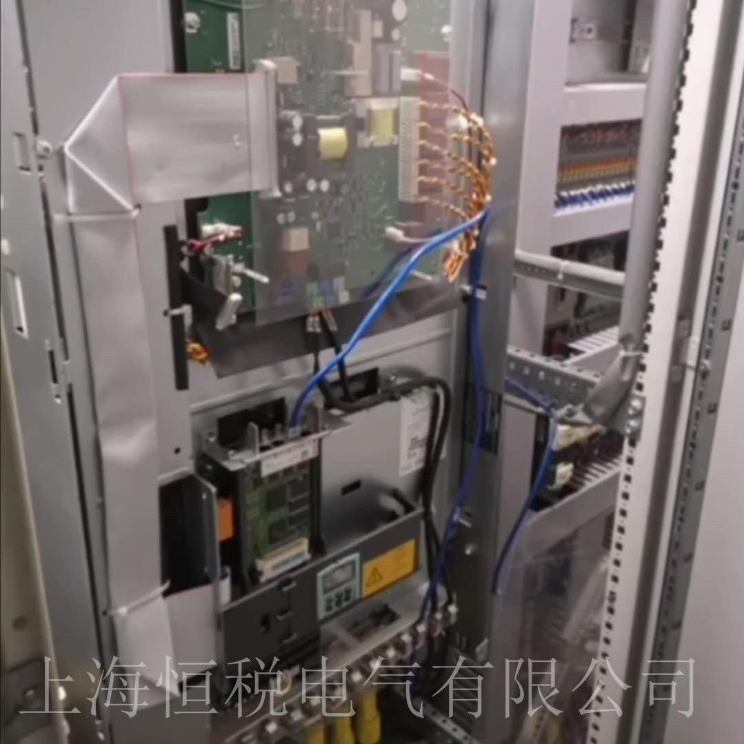 西门子6RA8093开机报警F60106故障当天修复