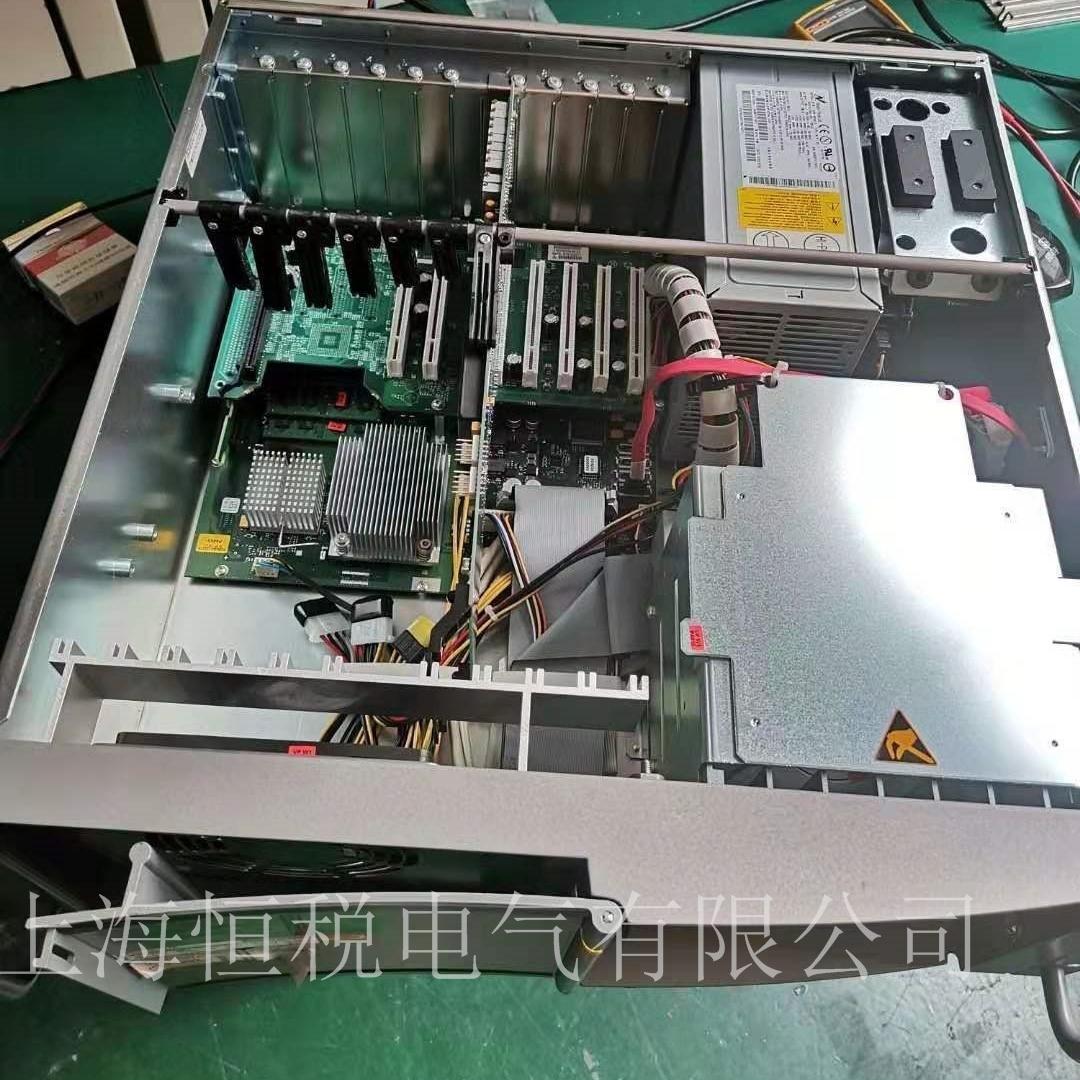 西门子工控机PC847开机一会就黑屏维修方法