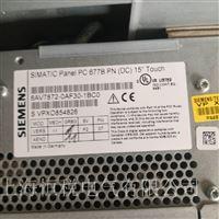 西门子工控机PC847运行一会就白屏修理解决