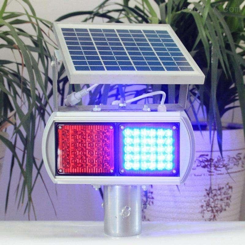 LED道路爆闪警示灯  双面四警灯