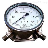 CYS-100B高静压不锈钢差压表