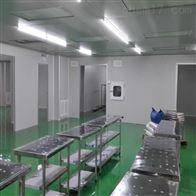 东营酒水灌装车间无菌室安装