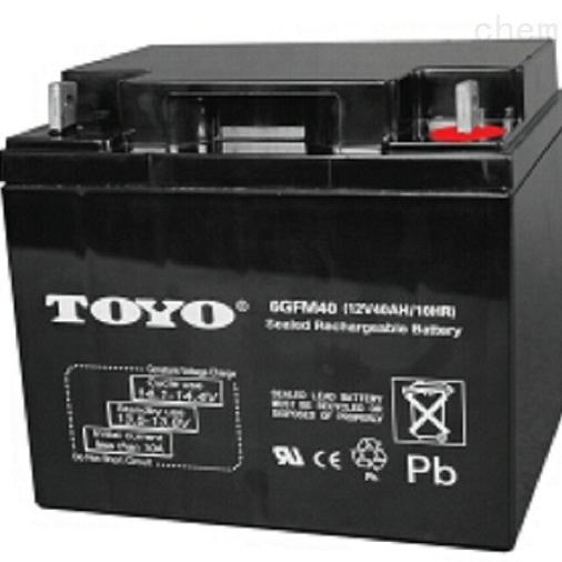 东洋蓄电池6GFM40区域代理销售