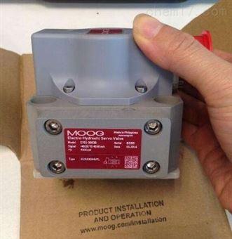 D634-341C穆格DDV阀MOOG伺服阀现货电厂用