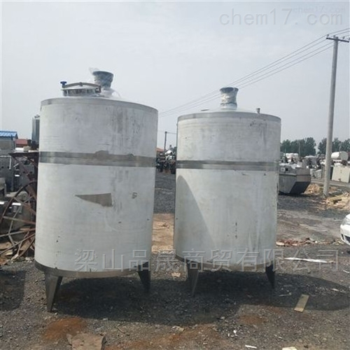 全国热销二手5吨不锈钢搅拌罐