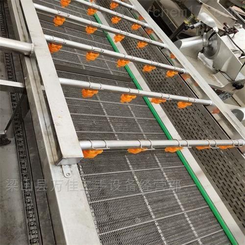 工厂直售二手4米6米网带蔬果清洗机