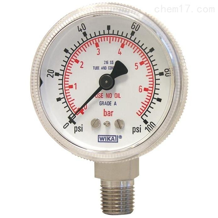 WIKA  130.15 波登管压力表