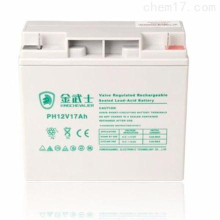 金武士12V17AH PW17-12 免维护蓄电池