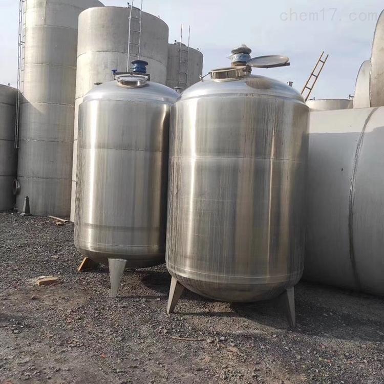 二手3吨不锈钢储罐大量出售