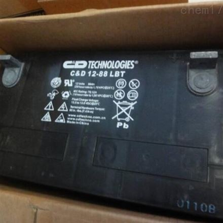 西恩迪蓄电池 12-88 LBT 12V88AH UPS专用