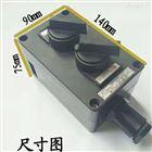 BZA8050-K2油漆廠防爆防腐雙聯雙控開關盒