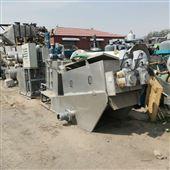 402调剂回收二手叠螺过滤机污水脱水机