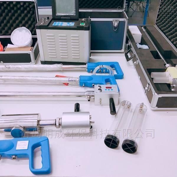 防倒吸版自动综合烟尘烟气分析仪 实时读数