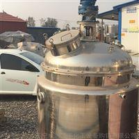 出售二手反应釜搪瓷不锈钢钛材都有