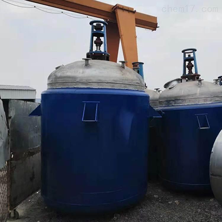 二手不锈钢反应釜参数山东厂家供应