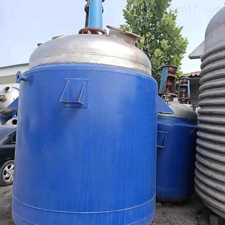 二手5吨反应釜参数厂家价格