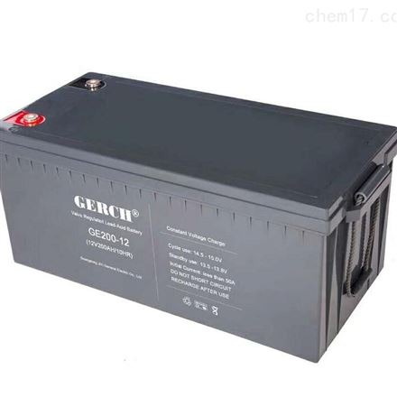 美国GERCH GE17-12 12V17AH蓄电池
