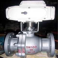 Q941F-16C-100电动碳钢球阀